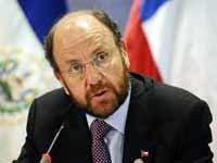 El canciller chileno, Alfredo Moreno.