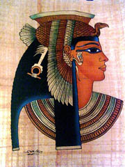 Cleopatra, la m�s famosa de las faraones de Egipto