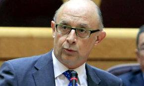 El ministro de Hacienda Cristóbal Montoro