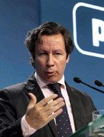 El vicesecretario general de Organización y Electoral del PP, Carlos Floriano