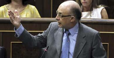 El ministro de Hacienda y Administraciones P�blicas, Crist�bal Montoro