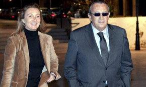 Andrea Fabra, con su padre, presidente del PP provincial, Carlos Fabra.