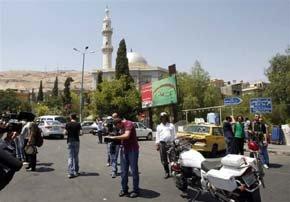 Tras atentado en Damasco, Bashar Al Asad arremete