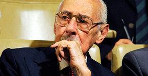 El exdictador argentino Jorge Videla