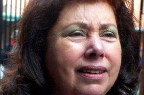 Luc�a Pinochet Hiriart, hija mayor del fallecido dictador Augusto Pinochet.