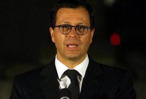 El ministro chileno del Interior, Rodrigo Hinzpeter