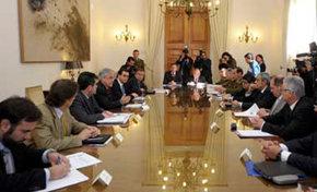 El presidente chileno aborda el conflicto mapuche