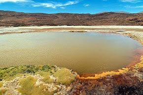 Chile: Laguna Roja, la laguna que parece sangre
