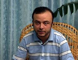 Ángel Carromero, en imagen capturada en la televisión cubana