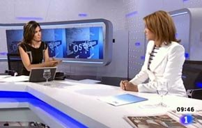 Un tenso diálogo con la Secretaria Gral. del PP en ABR/11 selló el futuro de la periodista en TVE
