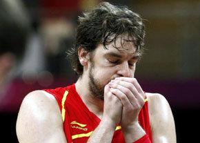 JJOO: Baloncesto: Gasol está preocupado por los últimos cuartos