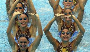 Sincro de equipos: España da el cabello por la medalla