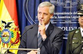 Vicepresidente de Bolivia García Linera