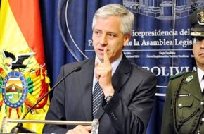 Vicepresidente de Bolivia Garc�a Linera