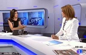 Un tenso di�logo con la Secretaria Gral. del PP en ABR/11 sell� el futuro de la periodista en TVE