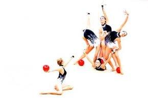 Excelente actuación del equipo español de gimnasia rítmica