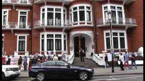 La embajada de Ecuador en Londres, actual refugio de Julian Assange