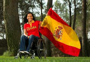 Londres2012: Teresa Perales será la abanderada de España en los Juegos Paralímpicos