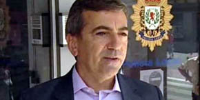 El exjefe de la Policía Local de Coslada Ginés Jiménez