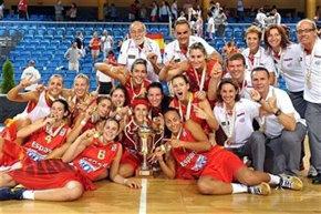La selección española sub-20 revalida su título de campeona de Europa