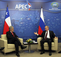 Vladimir Putin calificó de 'interesante' invitación de Piñera a visitar Chile