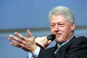 El expresidente de EE.UU. Bill Clinton