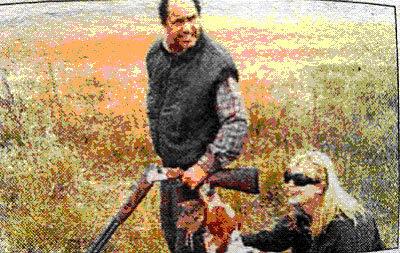 Gobernador de la provincia de Buenos Aires cazando en �poca de veda. Repugnante abuso de autoridad