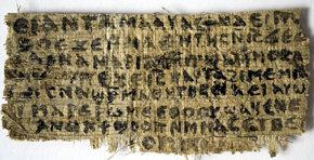 Un papiro del siglo IV menciona que Jesucristo tuvo una esposa