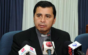 El obispo chileno Marco Antonio Órdenes