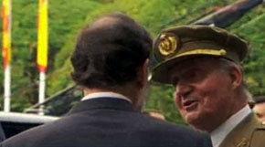 El rey expresa a Rajoy su malestar por 'lo de españolizar a los catalanes' de Wert