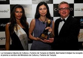 Premian al Ministerio de Cultura y Turismo de Turquía