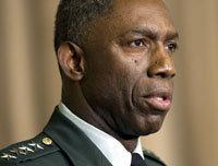 El general William Ward, comandante de las tropas de EEUU en África.