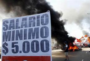 Kirchner tacha la huelga de 'amenaza' a Gobierno y trabajadores