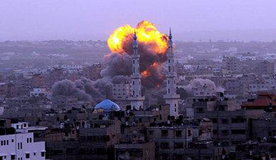 Israel bombardea por aire y mar la costa de Gaza: ya hay medio centenar de palestinos fallecidos
