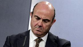 El ministro de Economia, Luis de Guindos