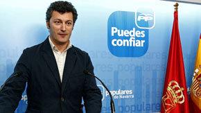 Fotografía de archivo del diputado del PP Santiago Cervera