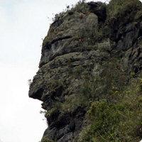 Descubierta una enorme cara inca en la selva amazónica