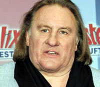 El popular actor Gerard Depardieu