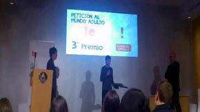 Un adolescente rechaza un iPod como premio de un concurso de Antena 3