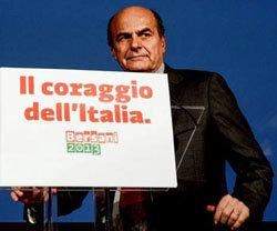 Imagen reciente del líder del PD, Pier Luigi Bersani