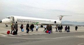 """Hispania Airways retomará la actividad """"en breve"""""""