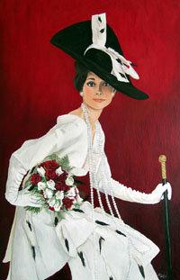 Solange da Costa, exposición de pintura en la Sala Miró del Palacio de Congresos