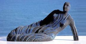 María Antonia Sánchez Escalona expone sus esculturas 'Nereidas' en el Palacio Pimentel de Valladolid
