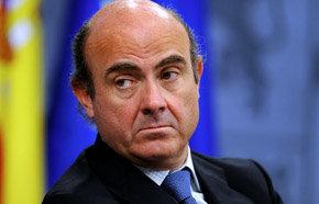 El ministro de Economía y Competitividad, Luis de Guindos