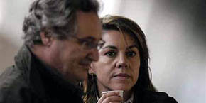 María Dolores de Cospedal y su marido Ignacio López del Hierro