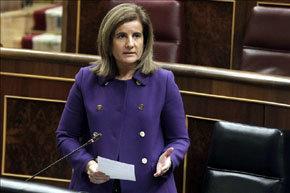 La ministra de Trabajo, Fátima Báñez.