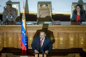 Diosdado Cabello, presidente de la Asamblea Nacional de Venezuela en una imagen de archivo