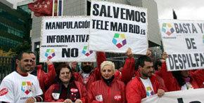 Telemadrid volverá a emitir el viernes tras el fin a la huelga indefinida