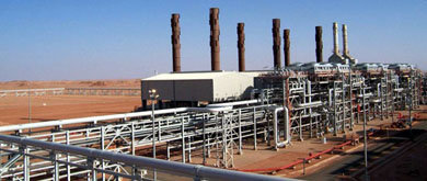 La planta de gas donde han secuestrado a los rehenes
