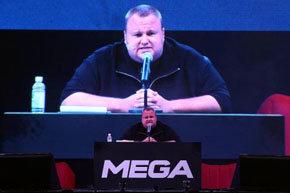 Kim Dotcom ha dado vida a Mega, el nuevo servicio de almacenamiento online